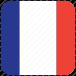 flag, reunion icon