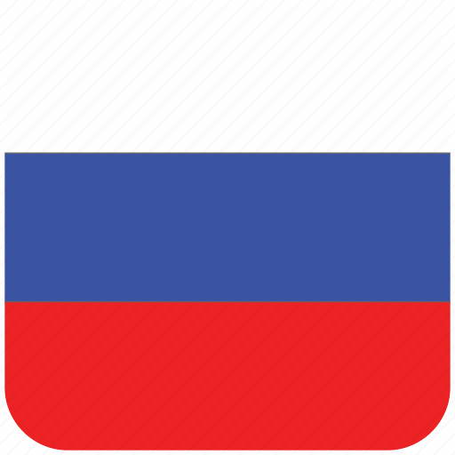 flag, russia icon