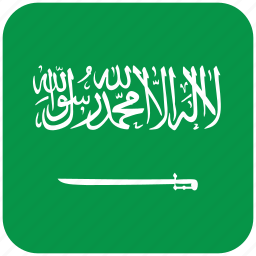 flag, saudi arabia icon