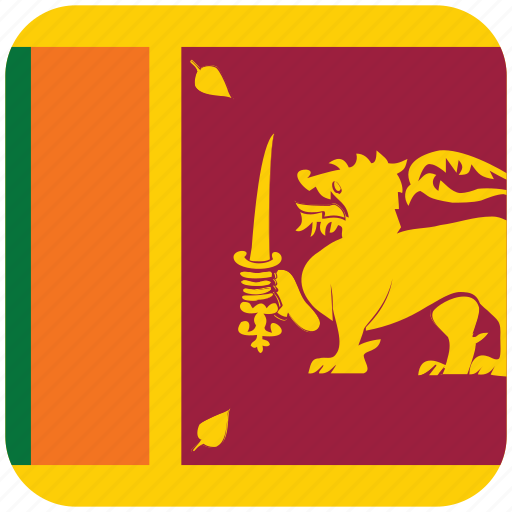 flag, sri lanka icon