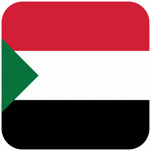 flag, sudan icon