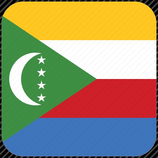 flag, the comoros icon