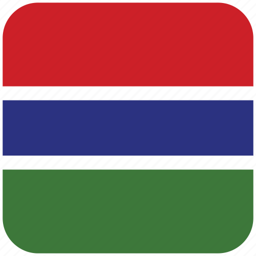 flag, the gambia icon