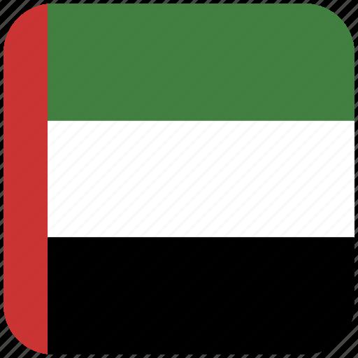 flag, united arab emirates icon