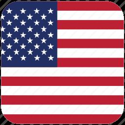 flag, united states icon