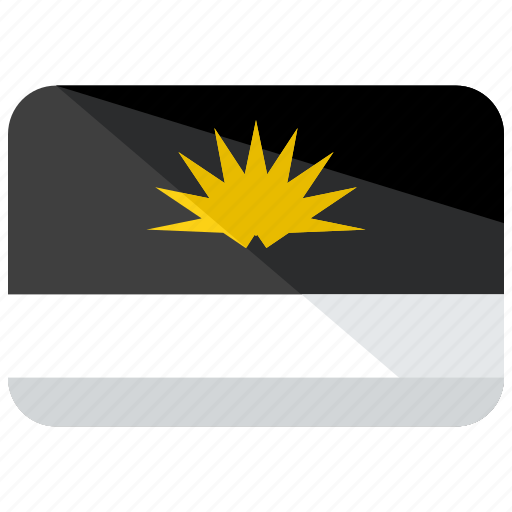 antigua, barbuda, country, flag icon