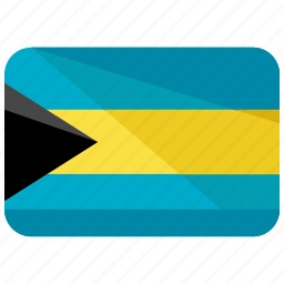 america, bahamas, country, flag, location, map, world icon