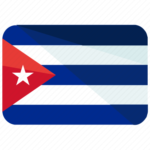 america, country, cuba, flag, location, map, world icon