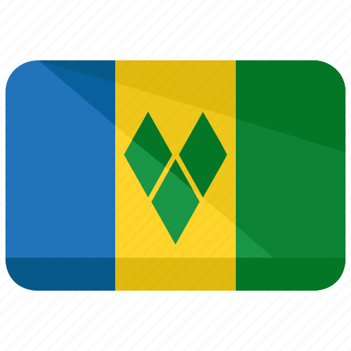 flag, grenadines, saint, vincent icon