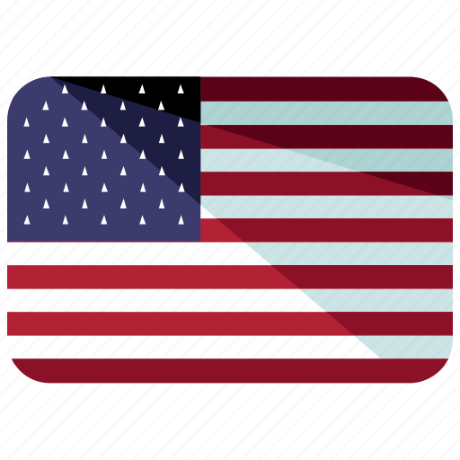 america, country, flag, map, states, united, world icon