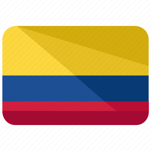 colombia, flag icon
