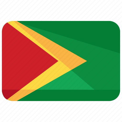 flag, guyana icon