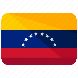 america, country, flag, map, south, venezuela, world icon