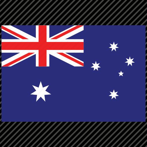 australia, australia's flag, australia's square flag, flag of australia icon
