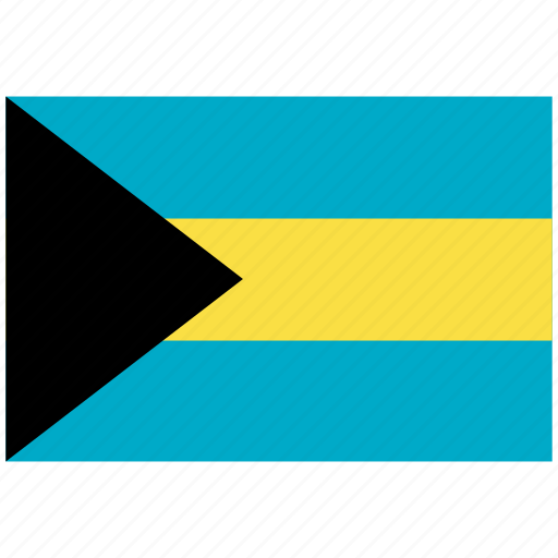 bahamas, bahamas's flag, bahamas's square flag, flag of bahamas icon