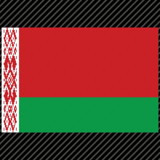 belarus, belarus's flag, belarus's square flag, flag of belarus icon