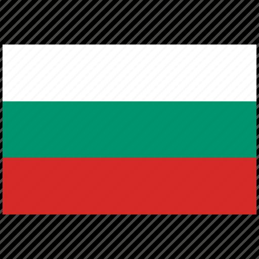 bulgaria, bulgaria's flag, bulgaria's square flag, flag of bulgaria icon