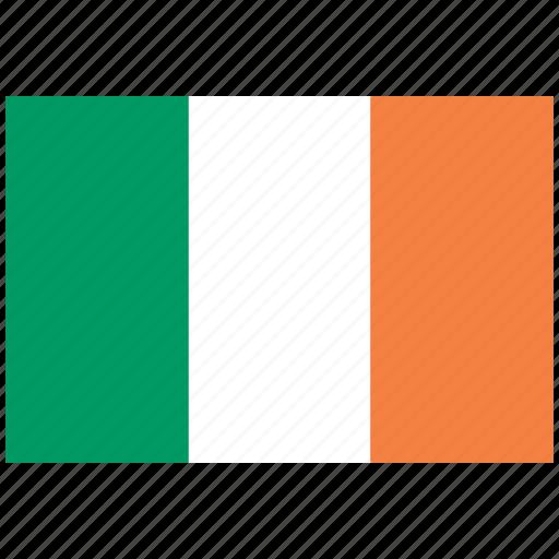 flag of ireland converted, ireland converted, ireland converted's flag, ireland converted's square flag icon