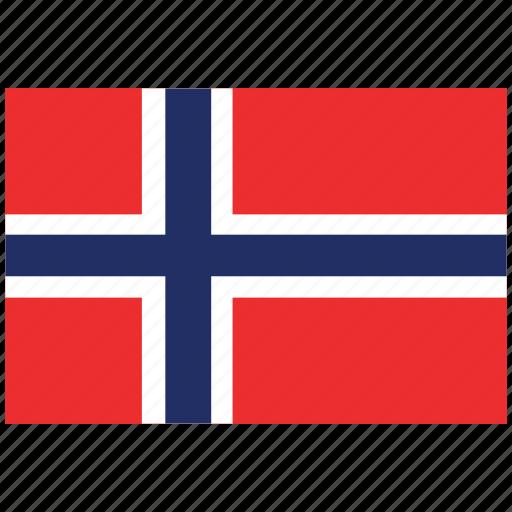 flag of norway, norway, norway's flag, norway's square flag icon