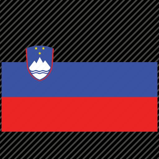 flag of slovenia converted, slovenia converted, slovenia converted's flag, slovenia converted's square flag icon