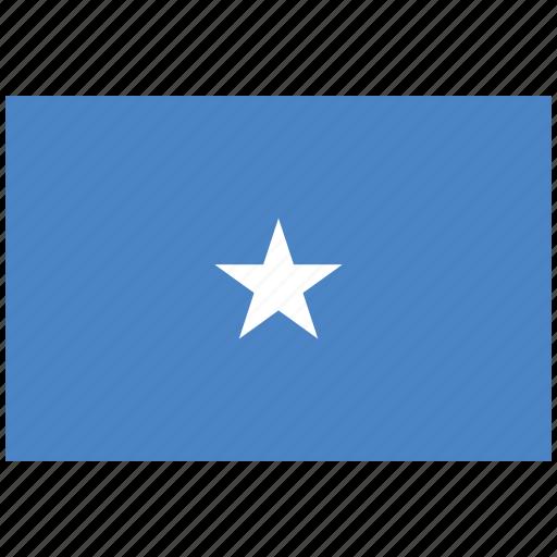 flag of somalia, somalia, somalia's flag, somalia's square flag icon