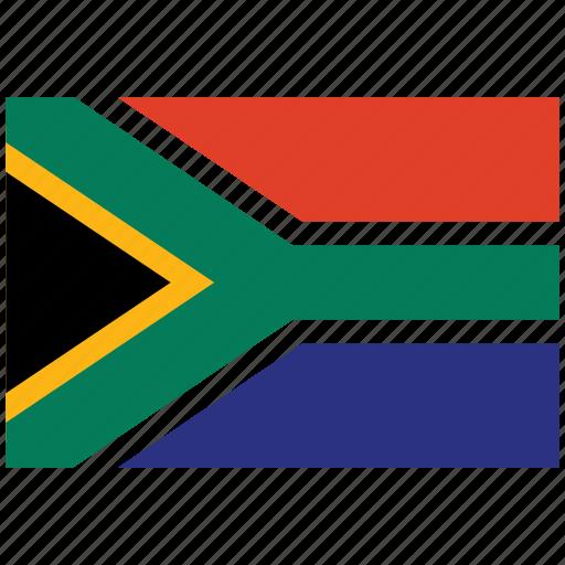 flag of south africa, south africa, south africa's flag, south africa's square flag icon