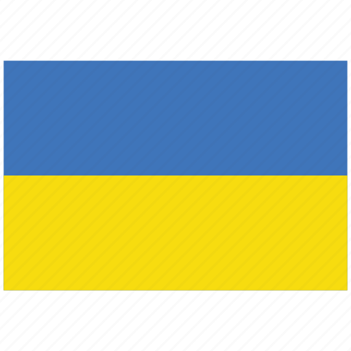 flag of ukraine, ukraine, ukraine's flag, ukraine's square flag icon