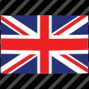 flag of uk, flag of united kingdom, uk, uk's flag, united kingdom, united kingdom's flag, united kingdom's square flag icon