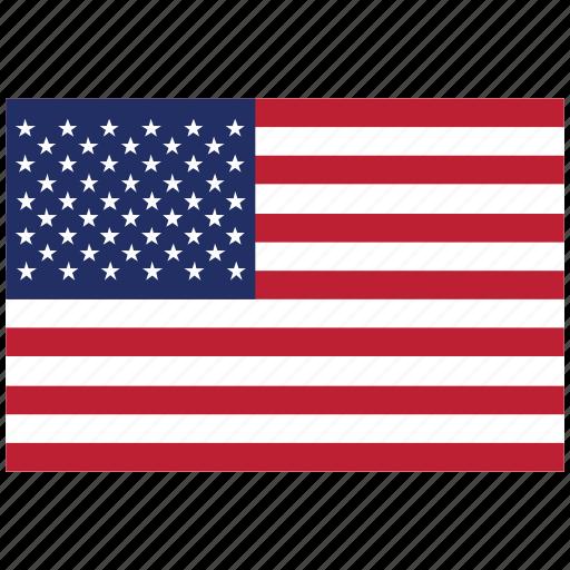 america, flag of america, flag of united states, united states, united states's flag, united states's square flag, usa icon