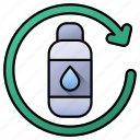 water, bottle, ecology, recycle bottle, recycle, recycling, plastic bin