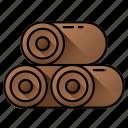 woods, deforestation, trunk, logging, log, wooden icon