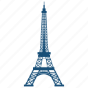 eiffel, tower icon