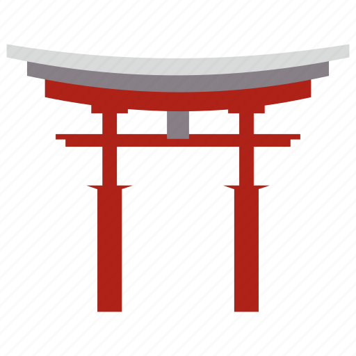 great, japan, the, torii icon