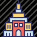 heritage building, historic building, landmark, mausoleum, monuments icon
