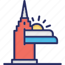 las vegas strip, nevada landmark, nevada skyline, skyline vegas, vegas strip icon
