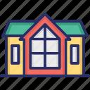 log building, log home, log house, wood log house, wooden house icon