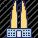 korean landmark, korean monument, lotte tower, lotte world tower, tallest building icon