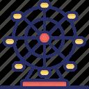 ferris wheel, historic wheel, london eye, london landmark, london monument icon