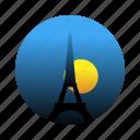 eiffel tower, france, landmark, paris icon