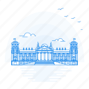 architecture, building, landmark, monument, reichstag icon