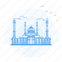 architecture, astana, landmark, monument, mosque, nur icon