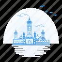 architecture, landmark, monument, senegal, touba icon