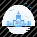 architecture, capital, landmark, monument, state, washington icon