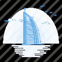 al, arab, architecture, burj, landmark, monument icon