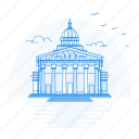 architecture, landmark, monument, pantheon icon