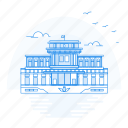 architecture, kumsusan, landmark, monument, palace icon