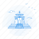 architecture, chiang, hall, kai, landmark, monument, shek