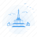 architecture, landmark, memorial, monument, slavin icon