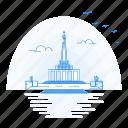 architecture, landmark, memorial, monument, slavin