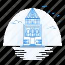 architecture, kunya, landmark, monument, urgench icon